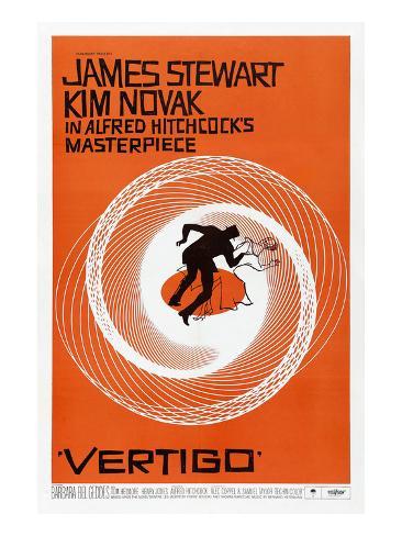 Vertigo, 1958 Stretched Canvas Print