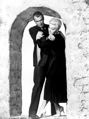 Vertigo, James Stewart, Kim Novak, 1958 Foto
