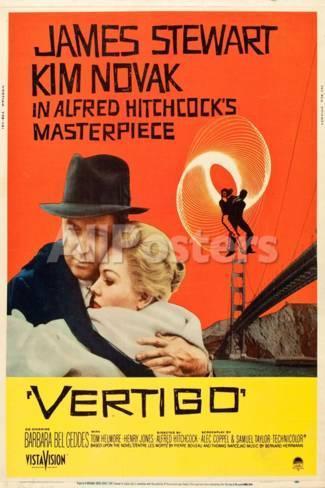 poster pelicula vertigo