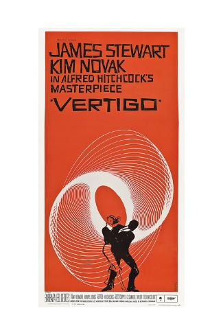 Vertigo - Punainen kyynel, 1958 Giclée-vedos