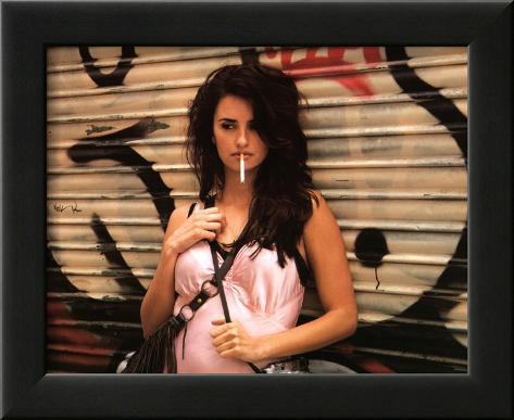 Vicky Cristina Barcelona Movie (Penelope Cruz) Glossy Photo Photograph Print Framed Photographic Print