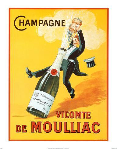 Vicomte de Moulliac Art Print