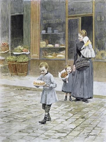 Father's Day, 1891 Giclée-vedos