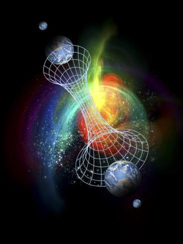 Parallel Universes, Conceptual Artwork Photographic Print