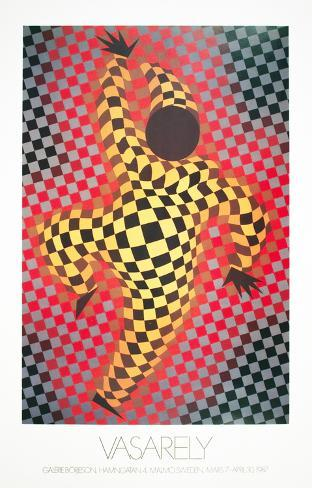 Clown (Red) Collectable Print