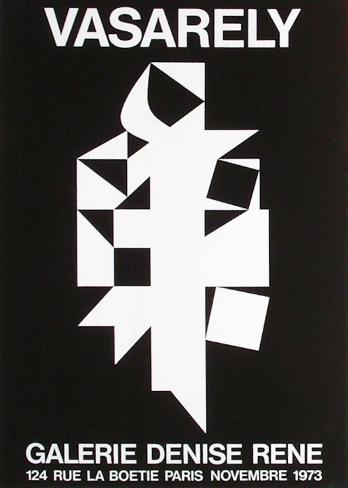 Expo 73 - Galerie Denise René Impressão colecionável