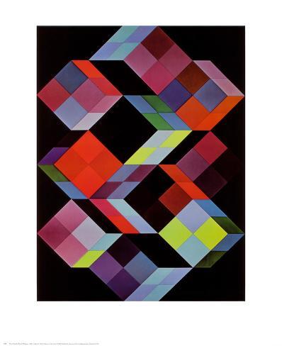 Tridem K Art Print