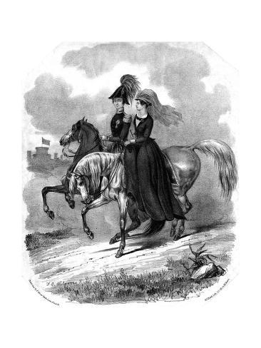 Victoria and Albert Giclee Print