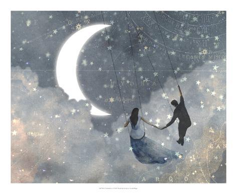 Celestial Love I Art Print