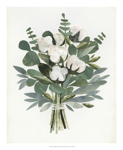 Cut Paper Bouquet III Giclee Print