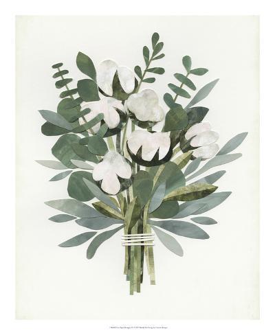 Cut Paper Bouquet IV Giclee Print