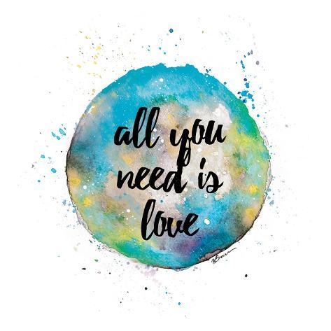 Need Love Art Print