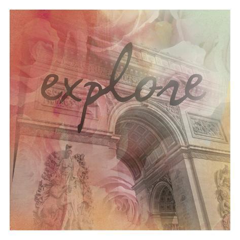 Triumph Explore Art Print