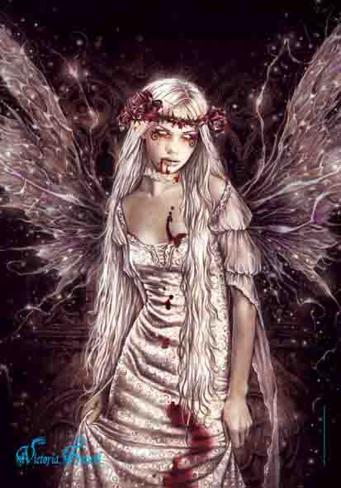 Victoria Frances - Ophelia's Dream Fabric Poster