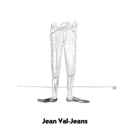 Jean Val-Jeans - Cartoon Premium Giclee Print