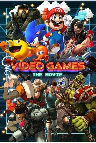 Video Games: The Movie Lámina maestra