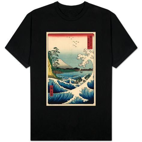 View from Satta Suruga T-Shirt