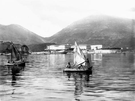View of the Gulf of La Spezia Photographic Print