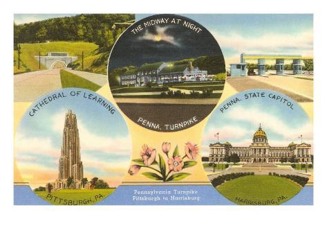 Views of Western Pennsylvania Art Print