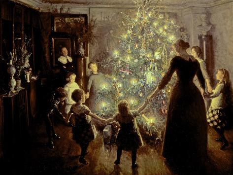 Silent Night, 1891 Giclee Print