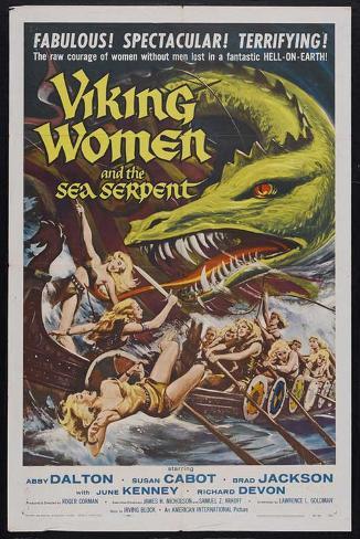 Viking Women and the Sea Serpent Masterprint