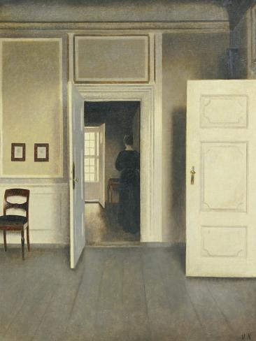A Woman in an Interior, Strandgade 30, 1901 Lámina giclée
