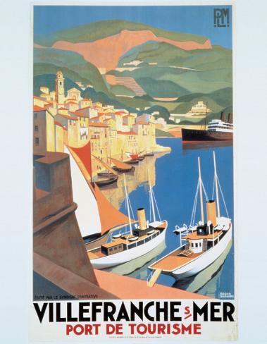 Villefranche Sur Mer Art Print