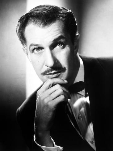 Vincent Price, ca. 1950s Stretched Canvas Print