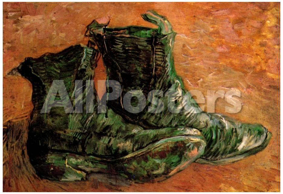 Vincent Van Gogh A Pair of Shoes Art Print Poster Prints - AllPosters.ca