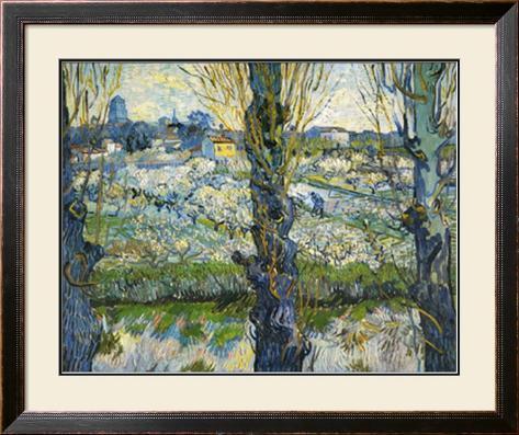 Blick auf Arles, c.1889 Framed Art Print