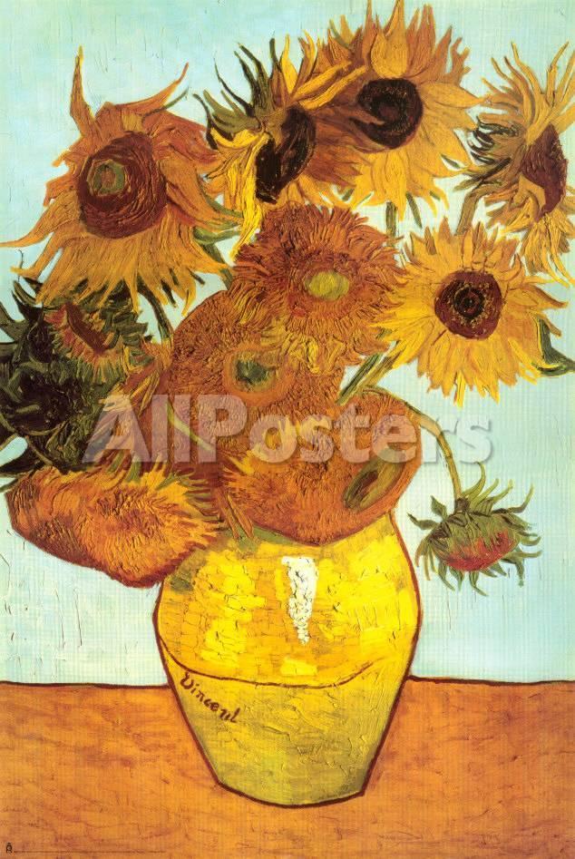 Doce girasoles Láminas por Vincent van Gogh en AllPosters.es
