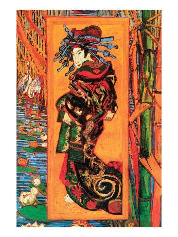 Japanaiserie: Oiran Art Print