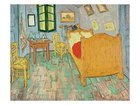 La camera da letto di vincent ad arles 1889 stampa gicl e - Van gogh la camera da letto ...