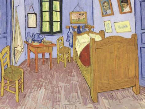 La camera da letto di Vincent ad Arles Arte di Vincent van Gogh su ...