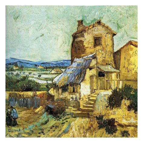 Le Vieux Moulin Art Print