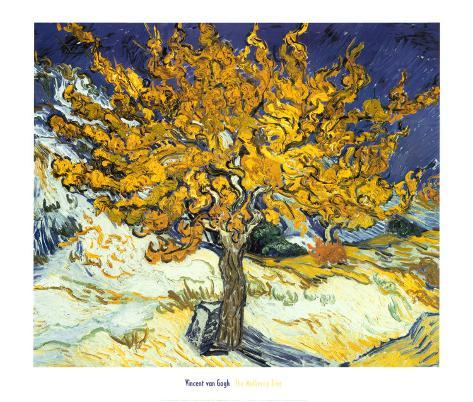Mulberry Tree, c.1889 Art Print