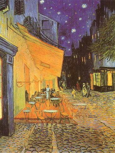 Night Café, 1888 Giclee Print