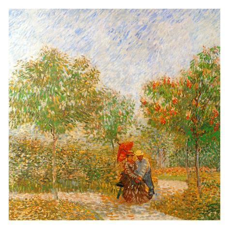 Parc Voyer D'Argenson A Asnieres (Détail 1) Art Print