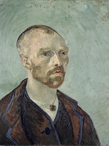Self-Portrait Dedicated to Paul Gauguin, c.1888 Giclee Print