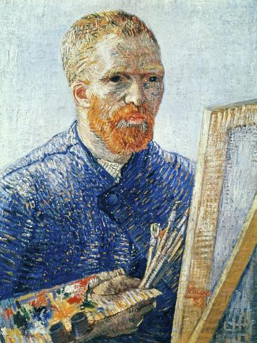 Self-Portrait in front of the Easel, c.1888 Giclee Print