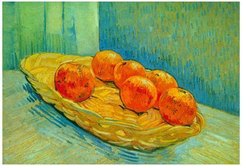 Six Poster Gogh Oranges Vincent Van Art Print wmOvNn08
