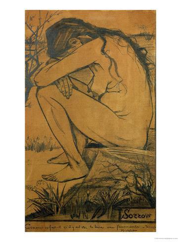Sorrow, c.1882 Giclee Print