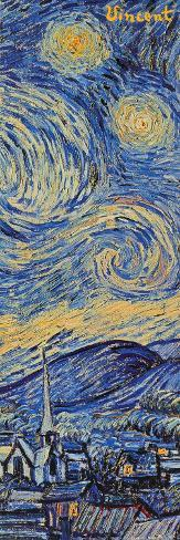 Starry Night, c.1889 (detail) Poster