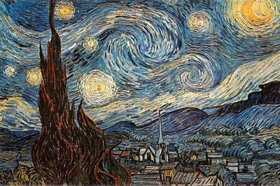 Starry Night, c. 1889 Posters by Vincent van Gogh at ...