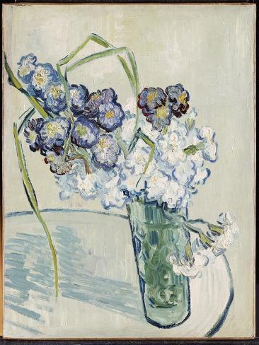 Still Life, Vase of Carnations, June 1890 Lámina giclée