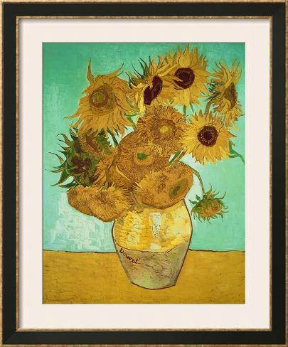 Sunflowers, 1888 Framed Art Print