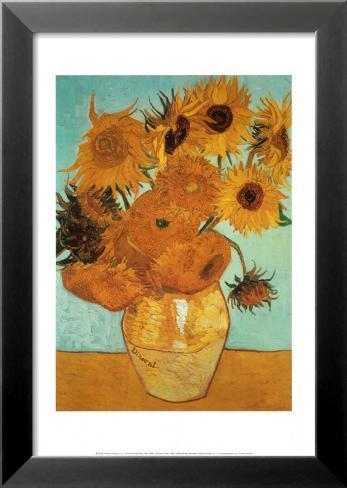 Sunflowers, c.1888 Lamina Framed Art Print