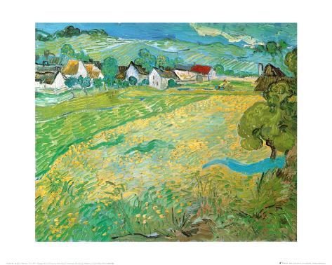 Sunny Meadow in Arles, c.1890 Art Print