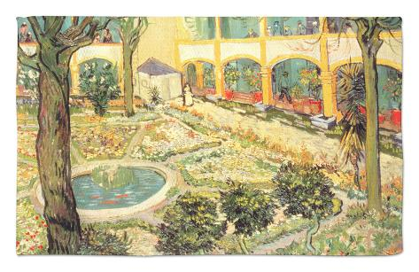 Captivating The Asylum Garden At Arles, C.1889