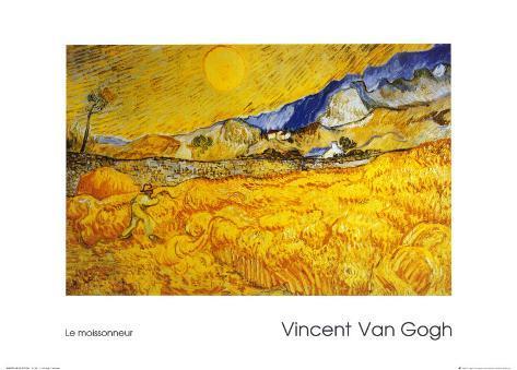 The Harvester Art Print
